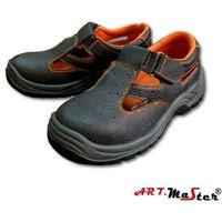 Sandały ochronne metalowy podnosek BSSB art master 44, 1 rozmiar