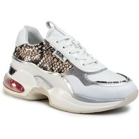 Sneakersy - kl61727 white lthr/textile marki Karl lagerfeld