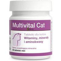 multivital cat - tabletki mineralno-witaminowo-aminokwasowe dla kotów 90tab. marki Dolfos