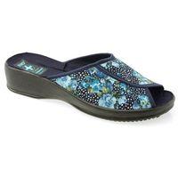 Pantofle Adanex 20234 niebieski, w 2 rozmiarach