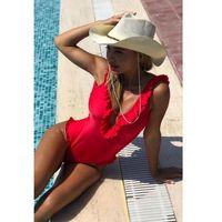 Strój kąpielowy LAZARA RED, w 3 rozmiarach