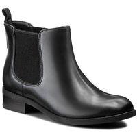 Sztyblety - pita sedona 261115754 black leather marki Clarks