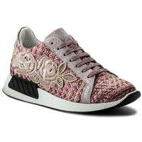 Sneakersy HEGO'S MILANO - 1036 Rosa/Ricamo