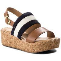 Sandały GANT - Judith 16563511 Marine/Tan/Cream G685, kolor wielokolorowy