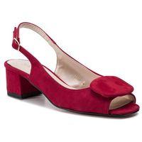 Sandały SAGAN - 3609 Rosso Welur 149