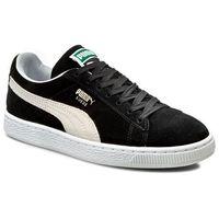 Sneakersy - suede classic+ 352634 03 black/white marki Puma