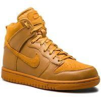 Buty - dunk hi prm 881232 700 desert ochre/desert ochre marki Nike