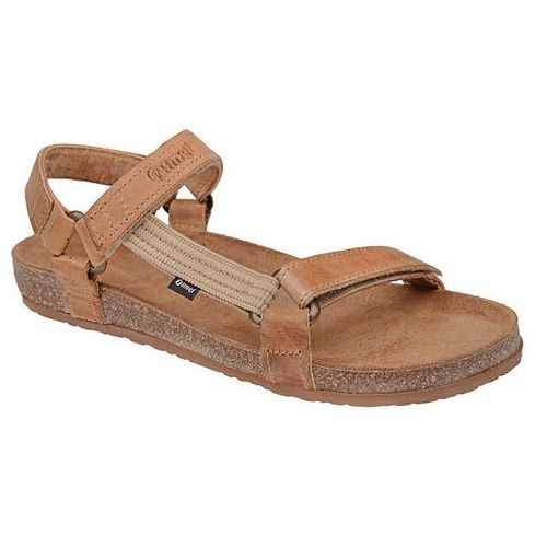 Sandały OTMĘT 405CP Beż-Brąz Jezuski BioForm Fussbett - Beżowy ||Brązowy