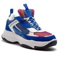 Sneakersy CALVIN KLEIN JEANS - Maya R7798 Nautical Blue/Rose/W, kolor niebieski