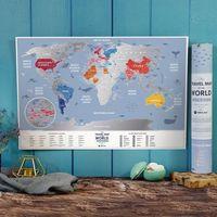 MAPA ZDRAPKA ŚWIAT Travel Map™ Weekend World - Travel Map™ Weekend World