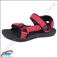 Sandały sportowo - trekkingowe HANNAH STRAP / Earth red, kolor czerwony