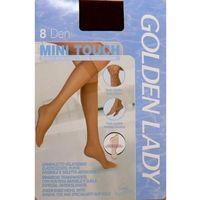 podkolanówki mini touch 8 den, Golden lady