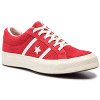 Sneakersy - one star academy ox 163270c enamel red/egret/egret, Converse, 36-46