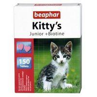 KITTY'S JUNIOR + BIOTINE 150szt. - tabl.witaminowe z biotyną dla młodych kotów