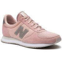 New balance Sneakersy - wl220te różowy