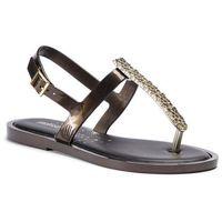 Sandały MELISSA - Slim Sandal II Ad 32601 Black/Gold 50816