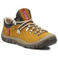 Trekkingi NAGABA - 054 Żółte P, kolor żółty