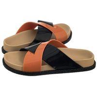 Melissa Klapki energy ad 32336/52040 black/beige/orange (ml85-b)