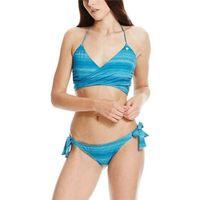 Strój kąpielowy - tie jaquard mykonos blue (bl192) rozmiar: s marki Bench