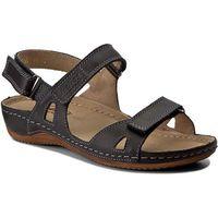 Sandały - 205 czarny, Helios, 36-37