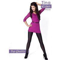 Rajstopy Mona Tina 40 den 2-4 4-L, fioletowy/purple. Mona, 2-S, 3-M, 4-L, 5901282216026