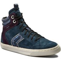 Geox Sneakersy - d new club a d5458a 00022 cg48h ocean/dk purple