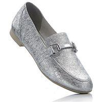 Buty wsuwane Marco Tozzi bonprix srebrny metaliczny