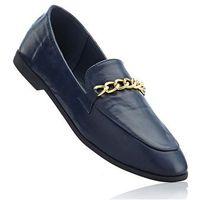 Buty wsuwane ciemnoniebieski marki Bonprix