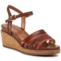 Sandały - 1-28060-34 nut comb 441 marki Tamaris