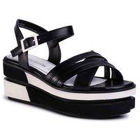 Sandały - 1-28014-24 black leather 003 marki Tamaris
