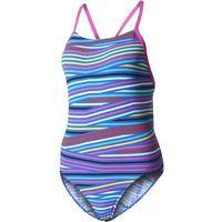 Adidas strój kąpielowy Inf+ Th.St.1Pcb Shock Pink /Blue 40, kolor niebieski