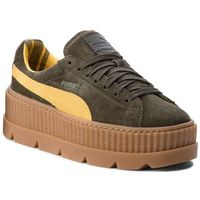 Sneakersy - cleated creepersuede 366268 01 rosin/lemon/vanilla ice, Puma