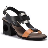 Sandały HISPANITAS - Lara CHV98553 Natural/Black, kolor czarny