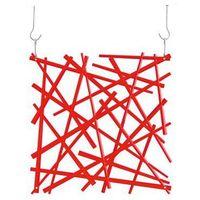 Panel dekoracyjny stixx - czerwony - czerwony marki Koziol