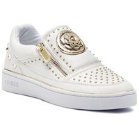 Guess Sneakersy - beela fl5bee lea12 white