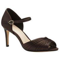 nina pleated satin sandal, Phase eight