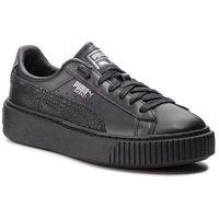 Sneakersy PUMA - Basket Platform Euphoria Metal 367850 02 Puma Black/Puma Aged Silver