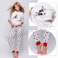 SENSIS piżama damska Panda, 8709-6315E