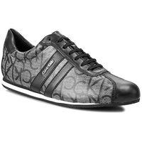 Sneakersy black label - gayla n12017 granite/bl marki Calvin klein