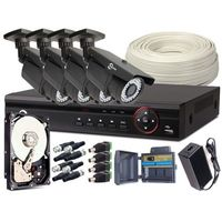ZESTAW MONITORINGU EASYCAM 4x Kamera 720p, Rejestrator, HDD 1TB Z961