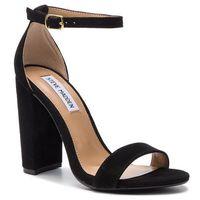 Sandały STEVE MADDEN - Carrson SM11000008-03002-015 Black Suede, w 7 rozmiarach