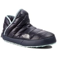 Kapcie THE NORTH FACE - Thermoball Traction Bootie T9331H5QC Shiny Blackened Pearl/Blue Haze