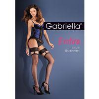 Pończochy etiennett 206 1/2-xs/s, czarny/nero, gabriella marki Gabriella