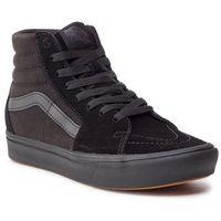 Sneakersy - comfycush sk8-hi black/black marki Vans