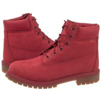 Trapery Timberland 6 IN Premium WP Boot A13HV (TI33-a), kolor czerwony