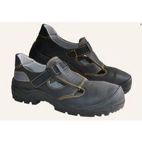 Sandały robocze czarne Fagum Stomil TECHWORK 1104 O1 SRC 47, kolor czarny