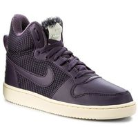 Buty - court borough mid se 916793 600 port wine/dark raisin marki Nike