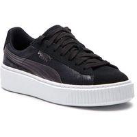 Sneakersy PUMA - Suede Platform Safari Wn's 364594 03 Puma Black/Puma Black, kolor czarny