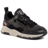 Sneakersy TOMMY HILFIGER - Sparkle Fashion Runner FW0FW04636 Black BDS, w 7 rozmiarach