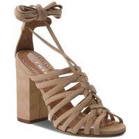 Sandały TWINSET - Sandalo CS8TDL Dune Chiaro 02313, kolor beżowy